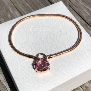 Pandora Rose Heraldic Radiance Bracelet